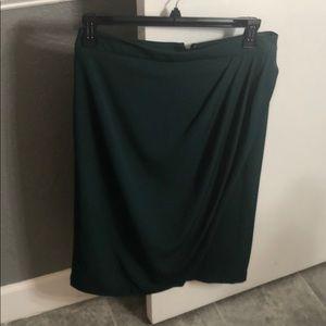 Eva Mendes Green Skirt